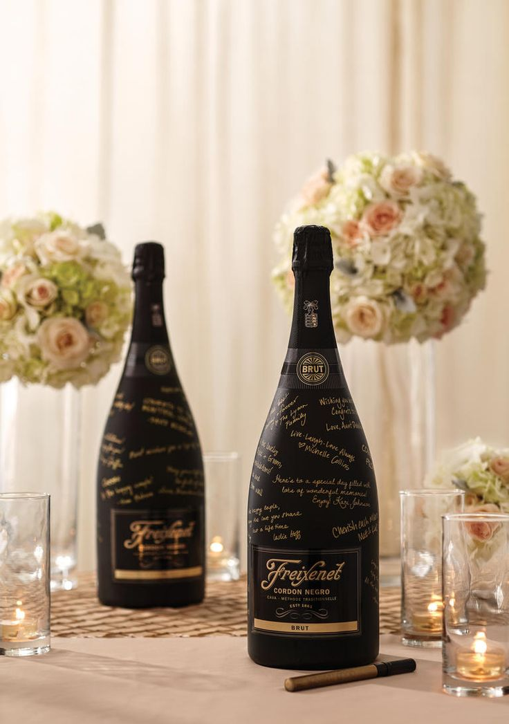 Crazy for Cava: 5 Ideas to Add More Bubbly to Your Wedding | TheKnot.com