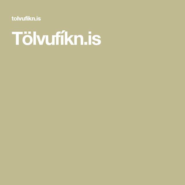 Tölvufíkn.is