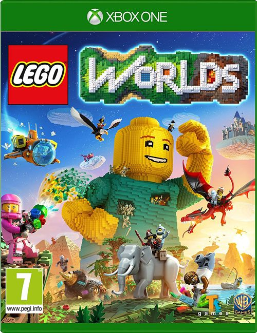 LEGO Worlds Xbox One is a new sandbox game that allows players to build constructions in a 3D world.