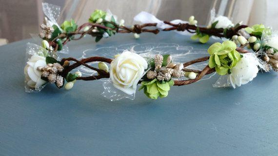 Posie's Pretties. Silk and paper braided branch by PosieMeadows