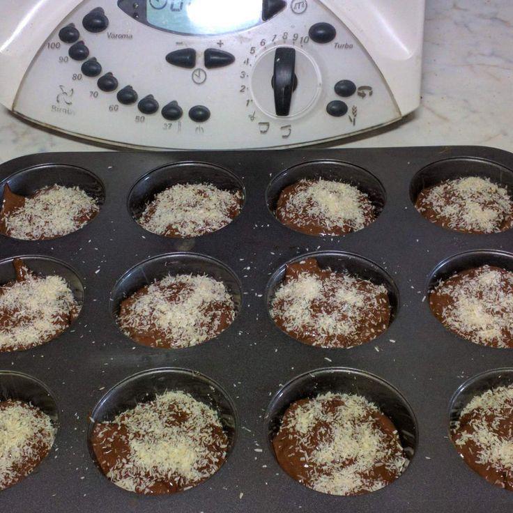 Muffin al cioccolato senza lattosio