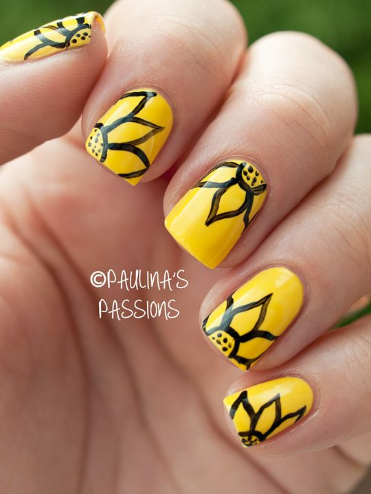 Top 25+ best Yellow nail ideas on Pinterest | Yellow nails design ...