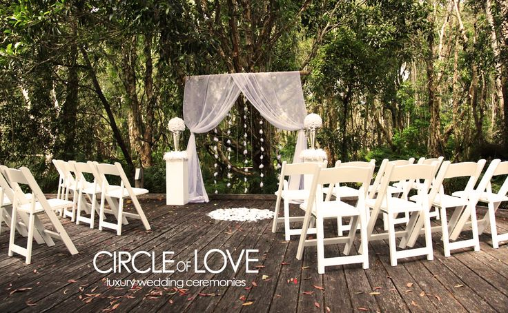 Byron bay rainforest wedding http://circleofloveweddings.com.au/