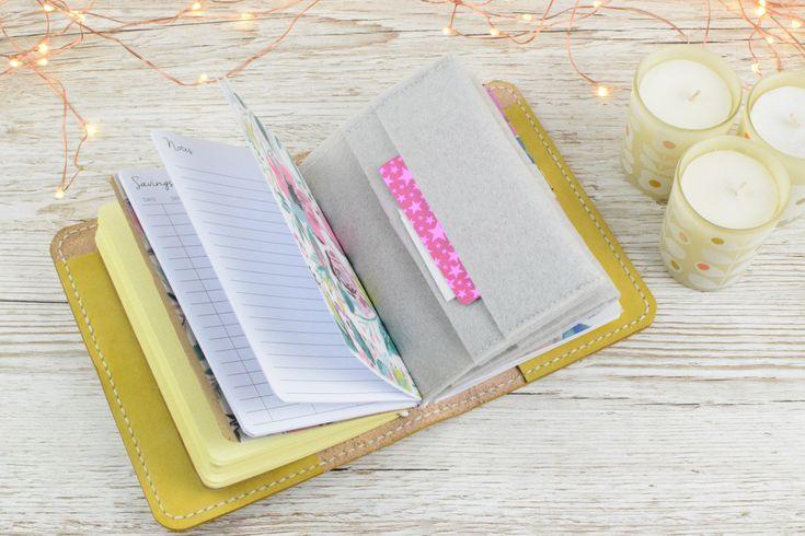 A6 wallet set up   Planner set up   A6 travelers notebook