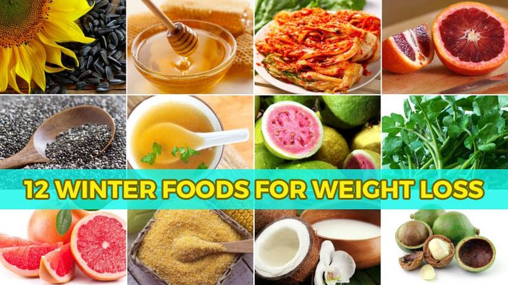 12 Winter Foods for Weight Loss