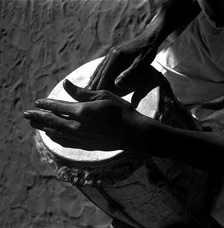 """umbanda: """" """"O atabaque é um instrumento Sagrado, Consagrado e Firmado por Orixás e Guias e tem uma força poderosa, que em uma gira faz toda a diferença."""" """"A batida do atabaque induz o cérebro a emitir ondas cerebrais diferentes do padrão comum,..."""