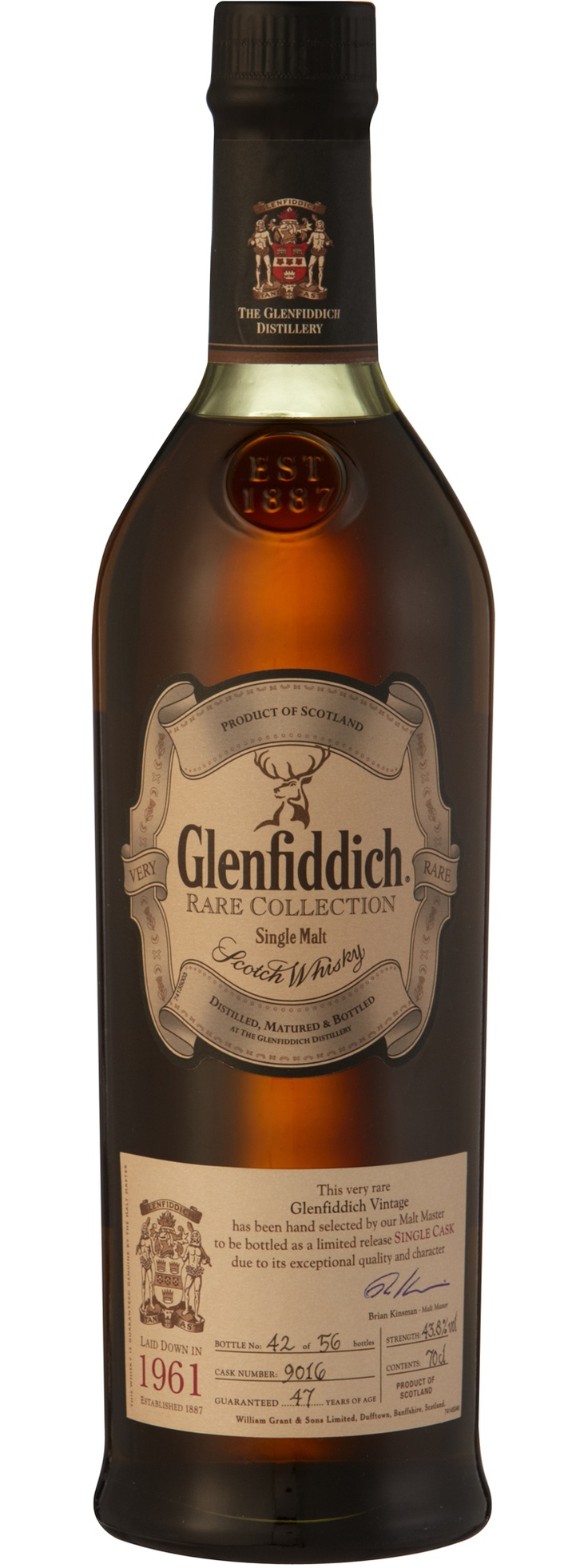 Glenfiddich Rare 1961