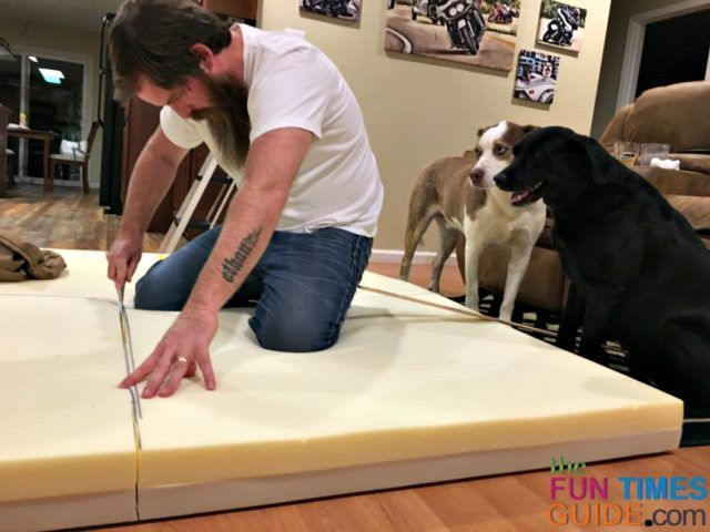 Diy Dog Bed Ideas See How I Made Xl Orthopedic Dog Beds For Our 2