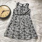 ❝❀ Motherhood Maternity Dress Size M Black And White Floral Summer Wear T... http://ebay.to/2lYPAj3