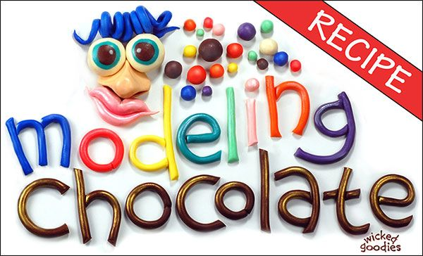Modeling Chocolate Recipe ~~ Great article! Even explains the differences in types of chocolate and which ones work best.
