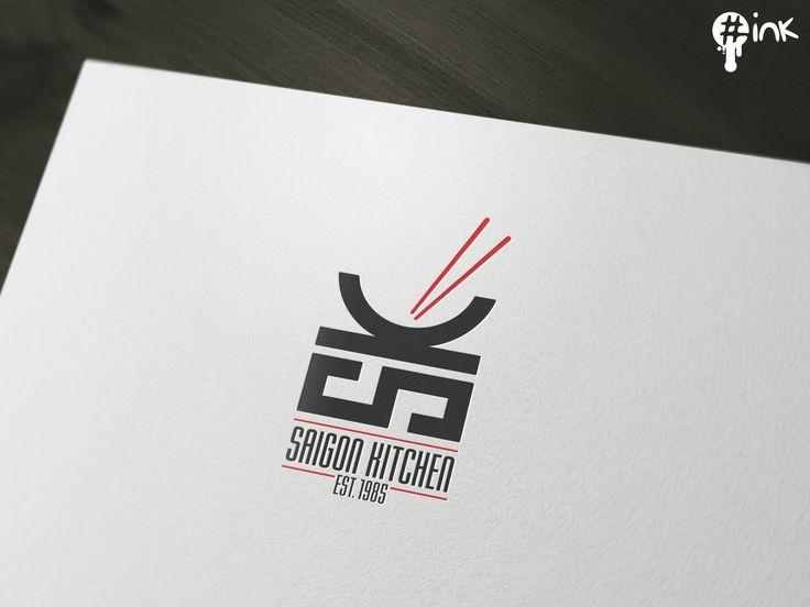 Unique & smart logo design for Saigon Kitchen, an Asian restaurant located…