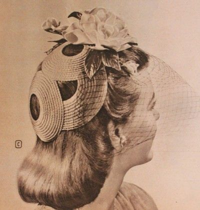 Calot Hat - 1940s Hats History - 20 Popular Women's Hat Styles
