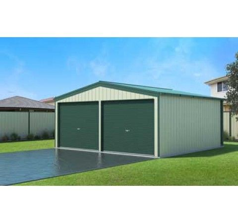#GARAGE - 3.5 X 5.7 X 2.4M - $2849 INC GST  Our Price: $2,849.00  Sizing Information - Please note that all shed sizes are in meters and roller doors in millimeters - Widths (Gable End) range from 3m to 9m - Bay Lengths (Gutter Side) are 3m or 3.5m depending on shed size, excluding the 3.5W x 5.7L x 2.4H - Heights start at 2.4m, 2.7m and 3m