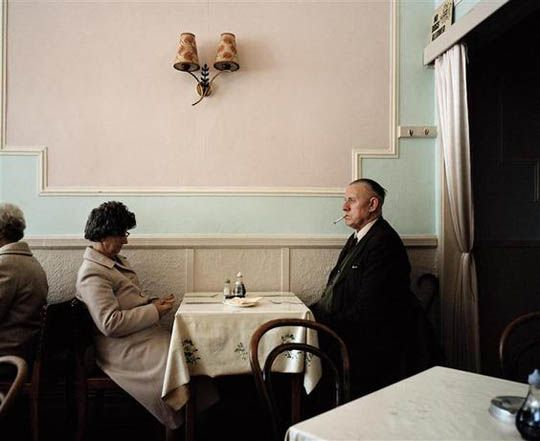 Martin Parr - Bored Couples. This looks familiar!