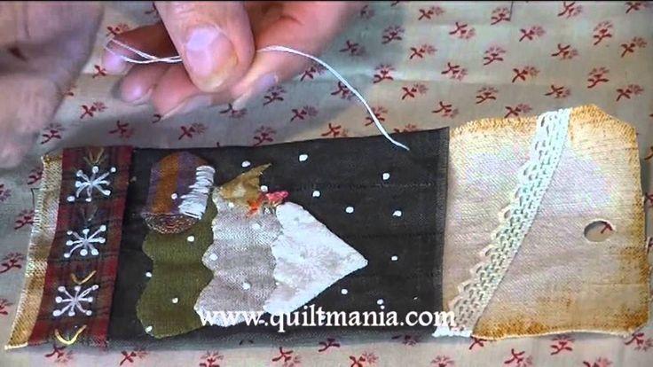 Préparez Noël avec Béa & QUILTMANIA - étiquette 10 décembre