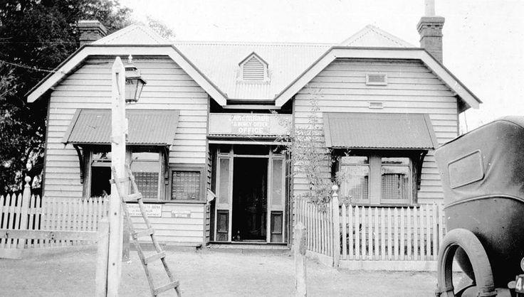 Edenhope Post Office, 1927 - Museum Victoria