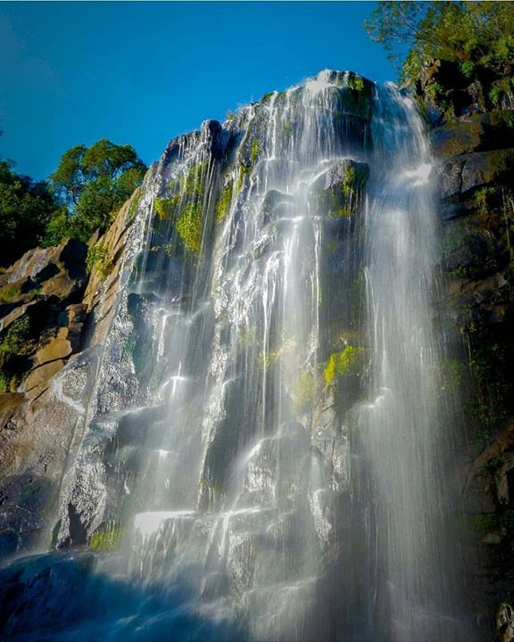 The Madonna and Child waterfall in Hogsback. Photo by @shoot4loot #ThisIsSouthAfrica Capturado por southafrica