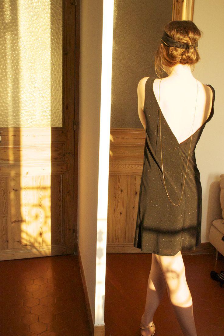Robe *GOLD FINGER* Charlotte aire +*