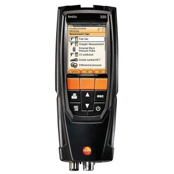 The Testo 320-1 Flue Gas #Analyser Standard #Kit with Printer is a multifunctional instrument for performing high definition measurements on #heating and #combustion systems for effective flue gas analysis. The #Testo 320 is suited to #testing and tuning all types of boilers as well as setting up and commissioning more complex multi-stage or modulating heating systems. In addition, its wide measurement range makes it ideal for eliminating malfunctions and monitoring legal limit values.