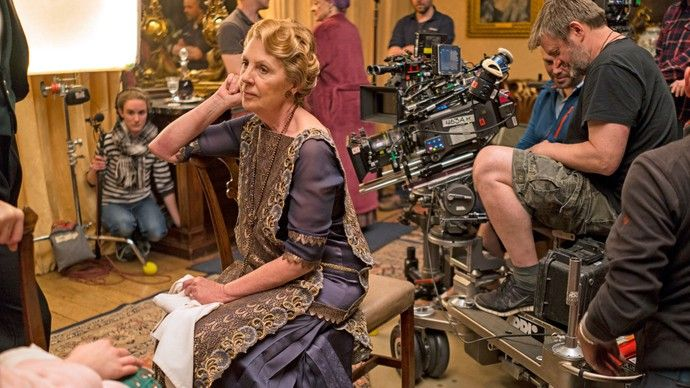 See insider images from the making of the dinner that shook Downton Abbey! Go behind the scenes of Downton Abbey, Season 6, Episode 5 as seen on MASTERPIECE on PBS! #DowntonPBS