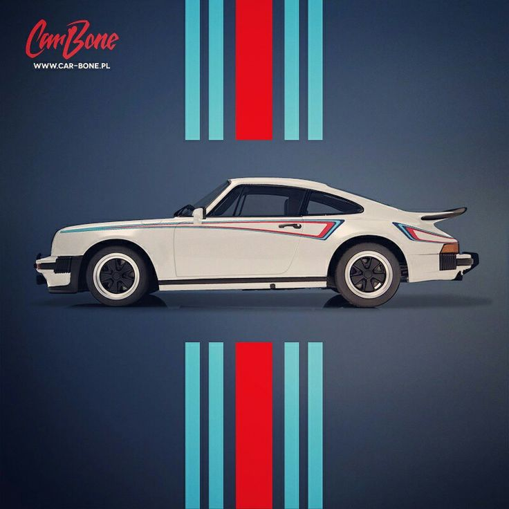 Martini livery for Porsche 911 930 from Car Bobe Liveries