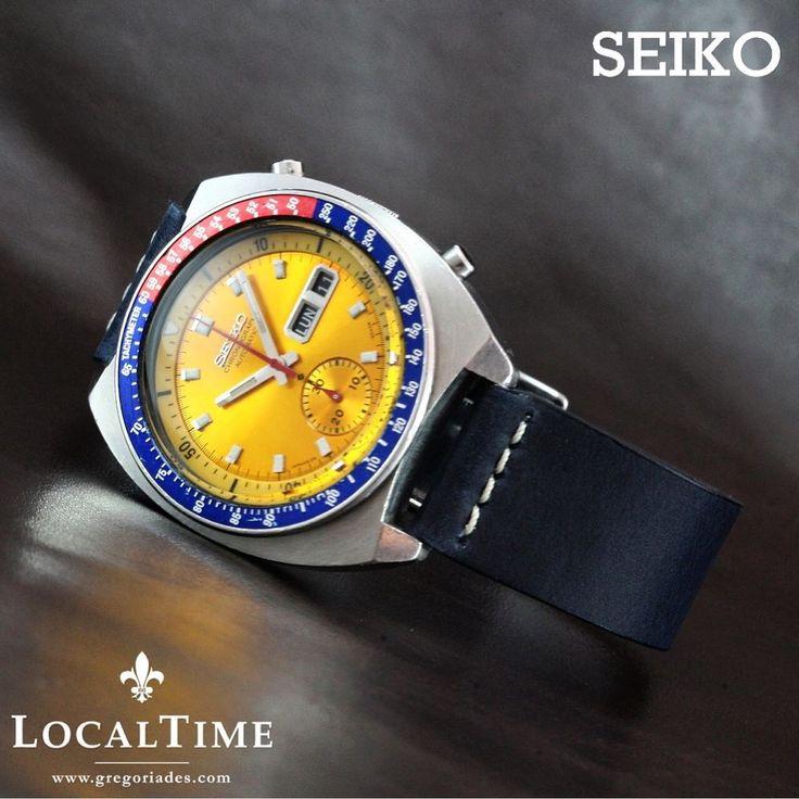 "1973 SEIKO ""Pogue"" Ref. 6139-6002 Skylab 4 Automatic Chronograph Cal. 6139B"
