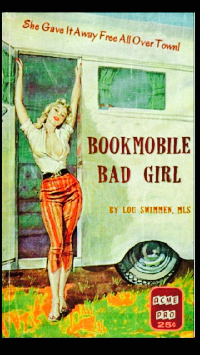 Wonder who bought this paperback when it was published? Gotta love pulp fiction!