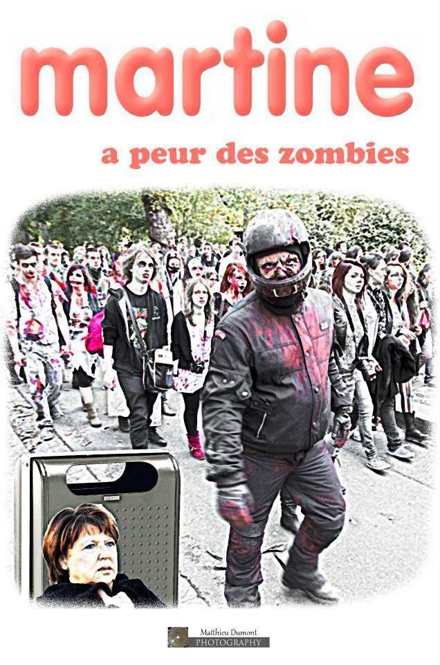 Martine a peur des zombies