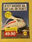 #Ticket  Lidl Ticket Bahnticket 2 Tickets Fahrten Deutschlandweite Fahrt DB #belgium