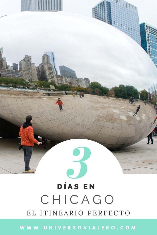 Que Visitar En Chicago En 3 Dias En Otono O Con Algo De Frio Que Visitar En Chicago Chicago Lago Michigan