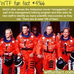 Armageddon movie and NASA - WTF fun facts