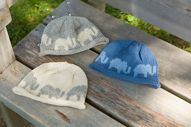 Ravelry: Elephant Hat pattern by Cheryl Beckerich FREE
