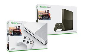 The Xbox One S Battlefield 1 Bundle includes the Xbox One S Console, Xbox…