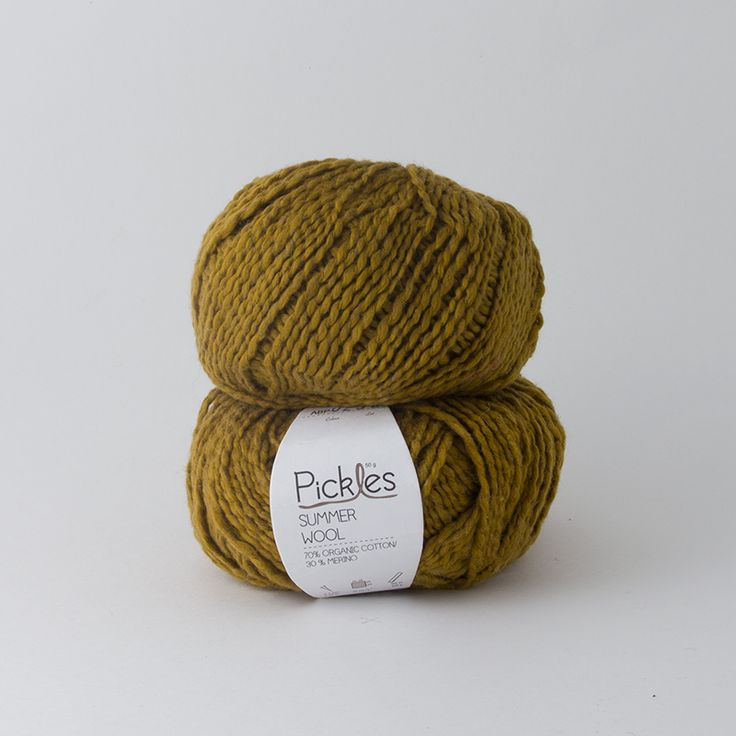 Pickles Summer Wool - Sjøgress