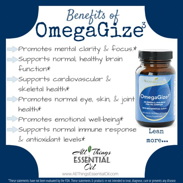 uses for omegagize young living - Google Search
