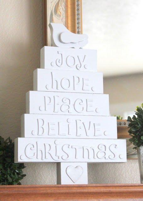DIY Noël : 35 idées déco pour un sapin sans épine !   www.decocrush.fr - @decocrush #xmas #christmas #season #crafts #handmade #homemade #design