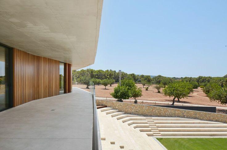 Tennis Terraces - Architecture - Domus