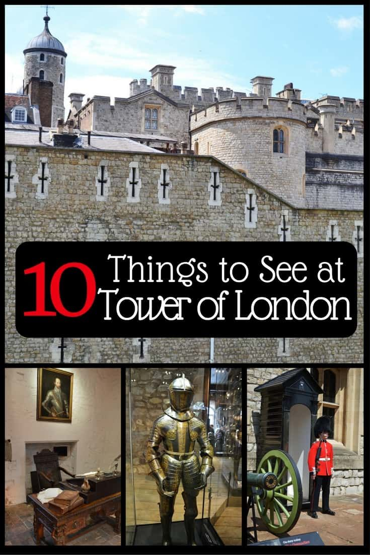 Things to See on a Day Trip to the Tower of London
