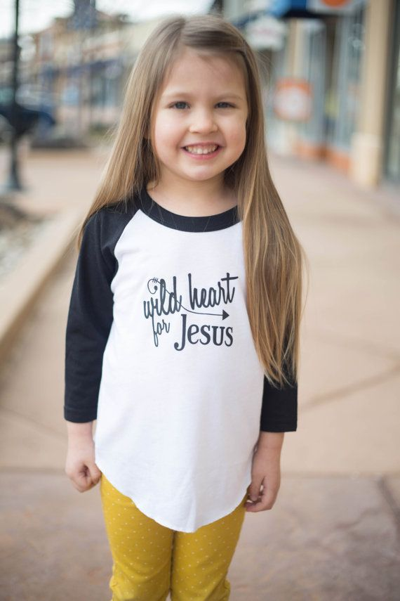Wild Heart for Jesus Tee Faith-based Inspirational by ...