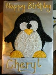 penguin cake - Google Search