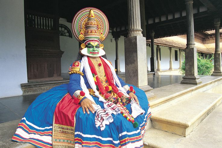 Tradition in Kerala, Indien.