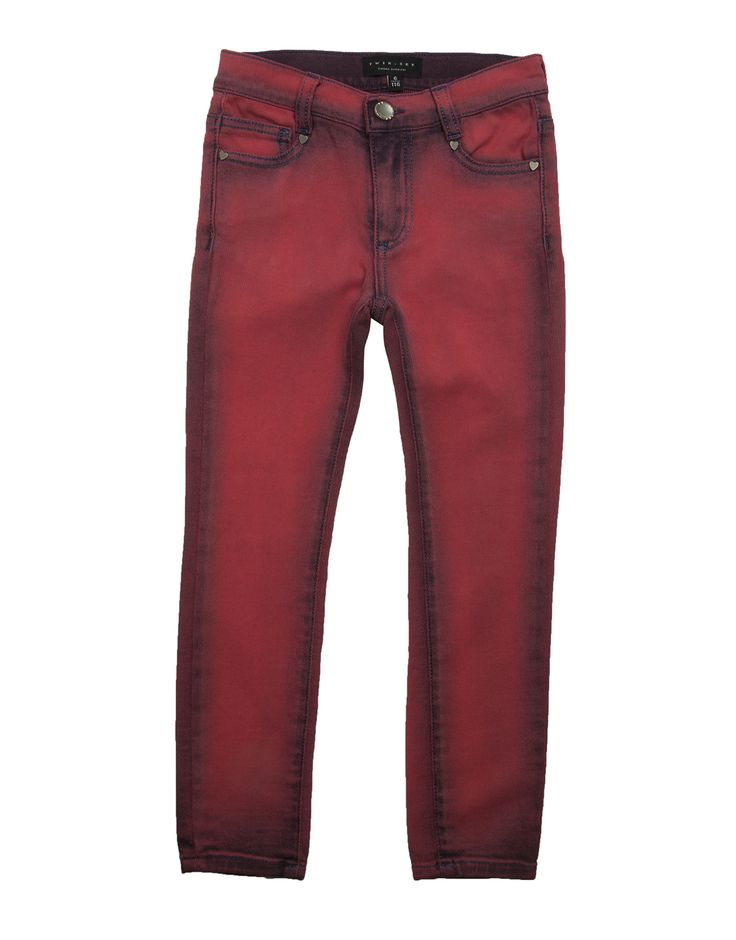 TWIN-SET GIRL  Girls 'Pop Pink' Skinny Jeans  from €115,00  €57,50