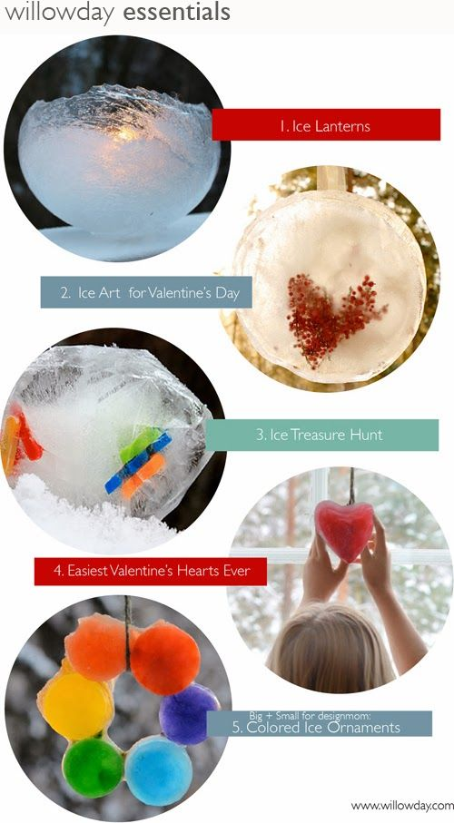 willowday: 10 Outdoor Winter Crafts