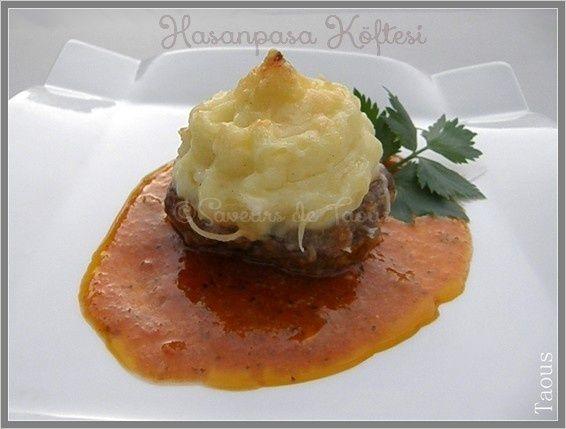 Hasanpaşa Köftesi [Cuisine turque]