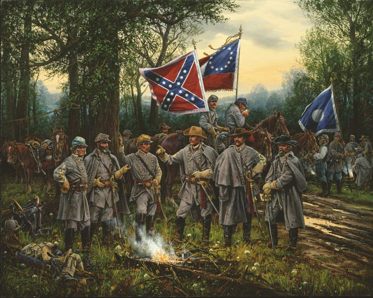 THE WAR COUNCIL    Shiloh, Tennessee  April 5, 1862