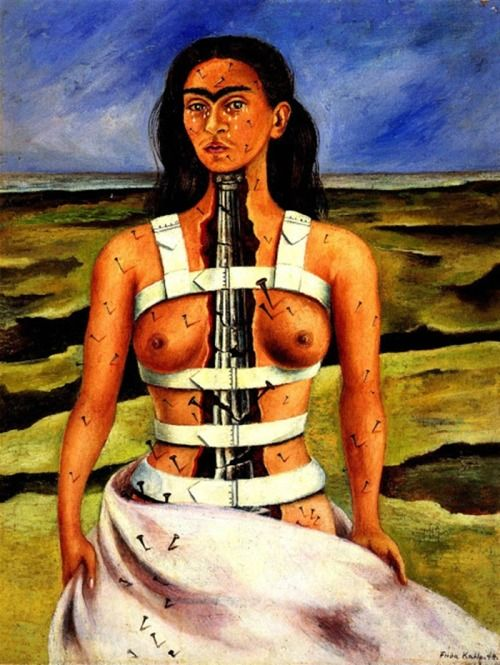 The Broken Column (1944). Frida Kahlo.
