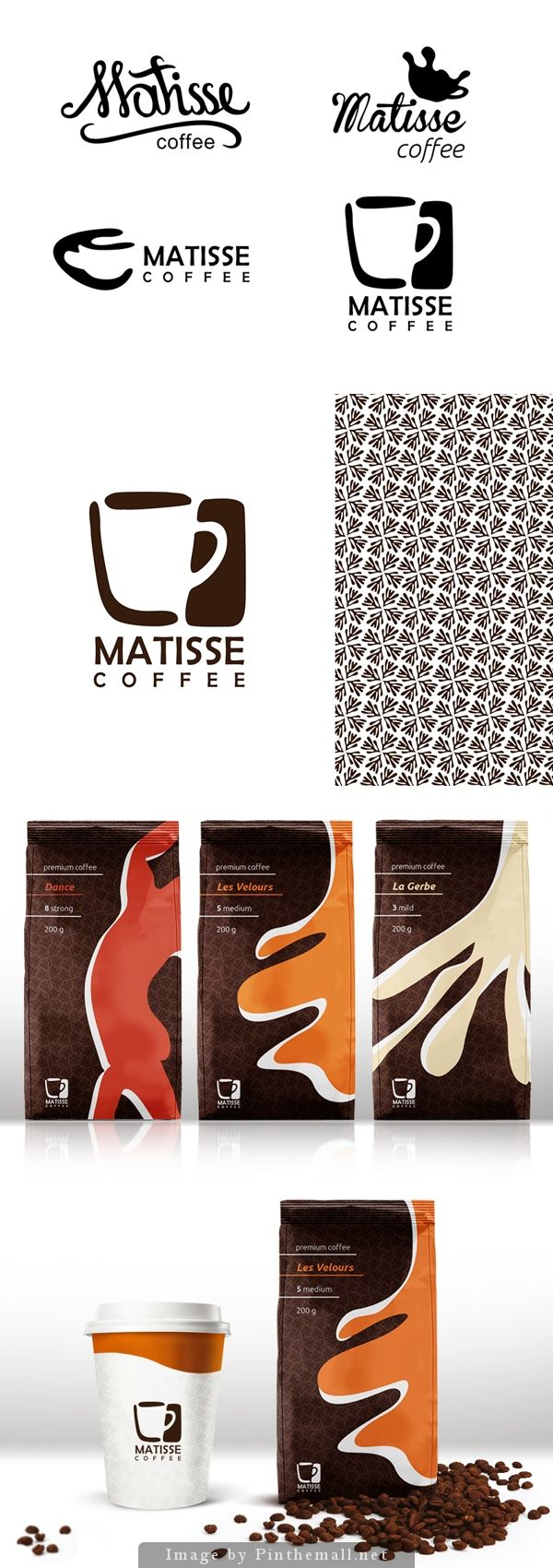 The concept of packaging design coffee by Julia https://www.behance.net/gallery/10983651/The-concept-of-packaging-design-coffee #coffee #kawa #kafe #cofe #coffe #design #packaging