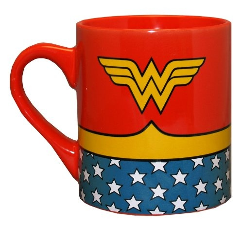 ($7.99) Wonder Woman DC Comics Superhero Costume Ceramic Coffee Mug From Silver Buffalo