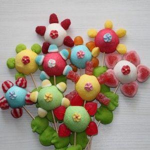 brochette bonbons