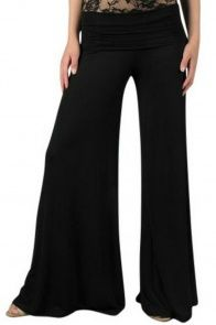 Superwide Comfy Palazzo Pants in Black....AKA I AM IN LOVE!!!!